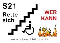 S21 Rette sich WER KANN (Demo-Plakat DIN A2, PDF-Datei, 813 KB)