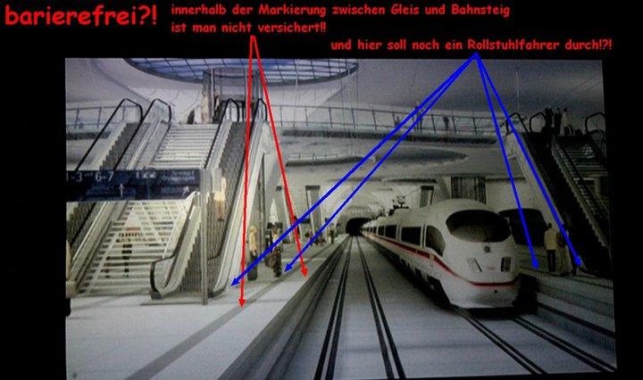 S21: Tiefbahnhof - barrierefrei?!
