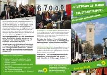 """""""Stuttgart 21"""" macht Stuttgart kaputt [Frühjahr 2009]"""