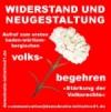 Demokratie-Initiative 21 - Volksbegehren (weisse Nelke)