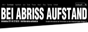 BEI ABRISS AIFSTAND - Blog der Aktiven Parkschützer: Aktuelle Nachrichten und Informationen der Parkschützer aus dem Widerstand gegen Stuttgart 21