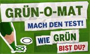 GRÜN-O-MAT - Mach den Test: Wie grün bist Du? (12 Fragen)